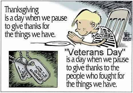 Why Thanksgiving & Why VeteransDay