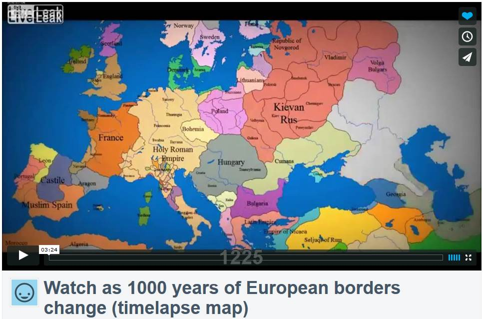 video: 1000 years of European History